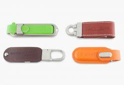USB minne i läder - USB-minne