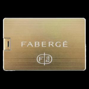 Kreditkort Guld - USB-minne